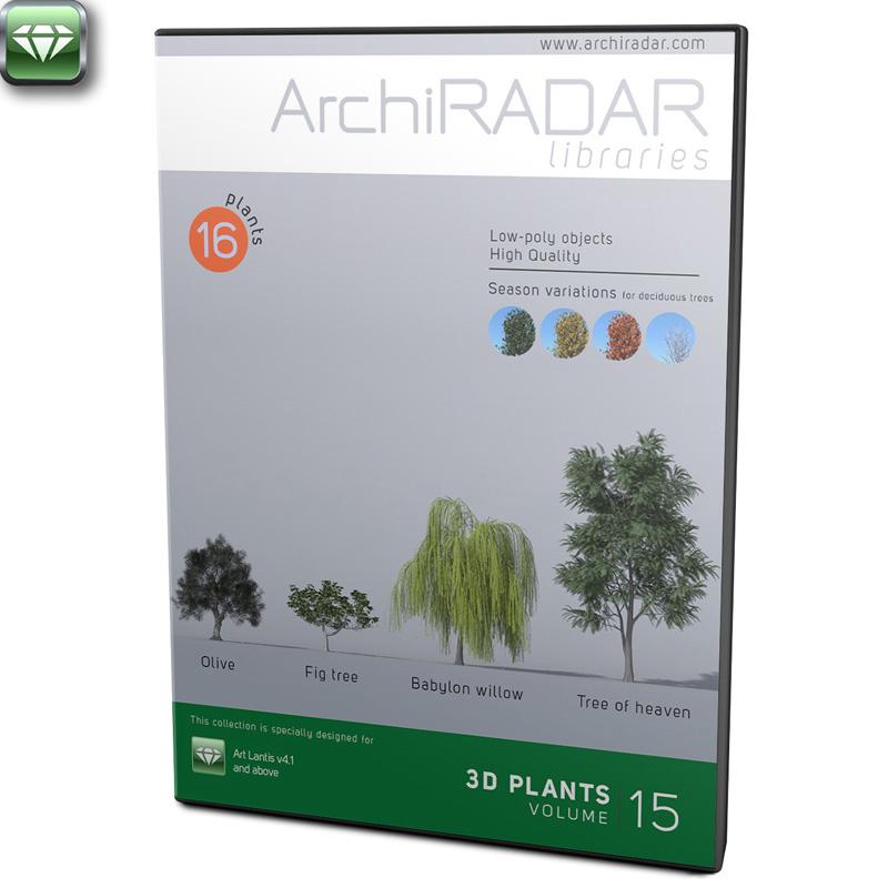 3D Trees - Volume 15