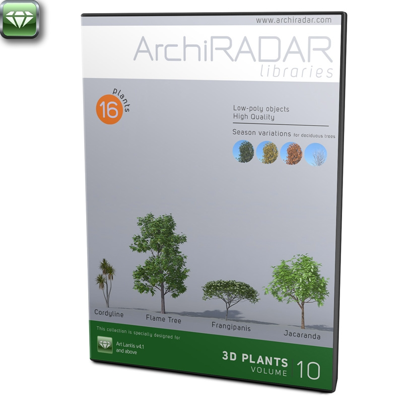 3D Trees - Volume 10