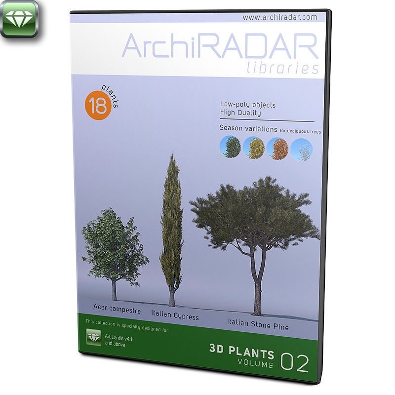 3D Trees - Volume 02