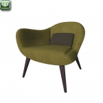 Mad chair by Poliform