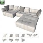 Pixel sofa by Saba