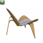 Shell chair by Wegner