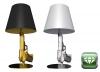 Gun lamps by Philippe Starck