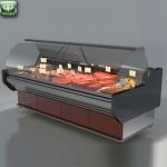 Butcher's display case