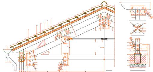 Download per utenti registrati registration required for Particolari costruttivi capriata in legno